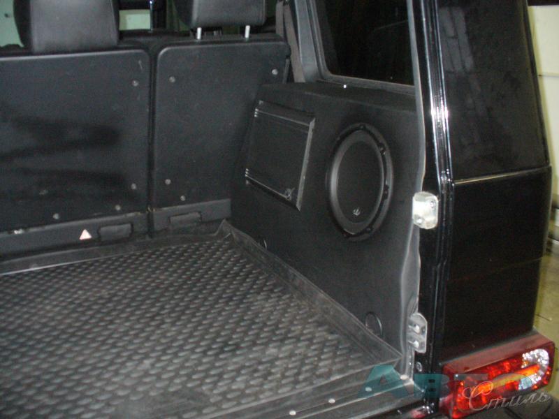 багажник гелендваген фото